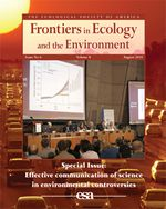 Effective communication of science in environmental controversies