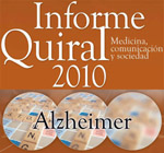 Hoy se presenta el Informe Quiral 2010 sobre la enfermedad de Alzheimer