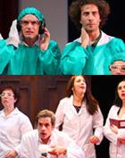 4D Óptico: obra de teatro sobre científicos