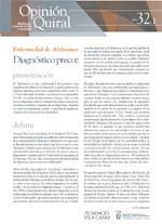 Opinión Quiral: Enfermedad de Alzheimer. Diagnóstico Precoz