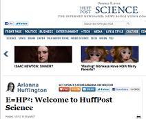 The Huffington Post abre una sección de Ciencia