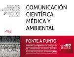 Sesión informativa del Máster en Comunicación Científica 2013