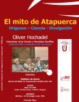 """RECORDATORIO: Presentación del libro """"El mito de Atapuerca"""" de Oliver Hochadel el 14 de mayo"""