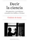 Decir la Ciencia PORTADA