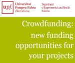 Conference about crowdfunding for biomedical projects